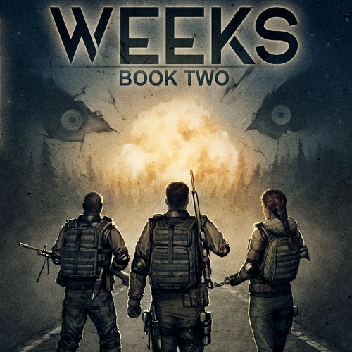 """""""Weeks"""" book two cover"""
