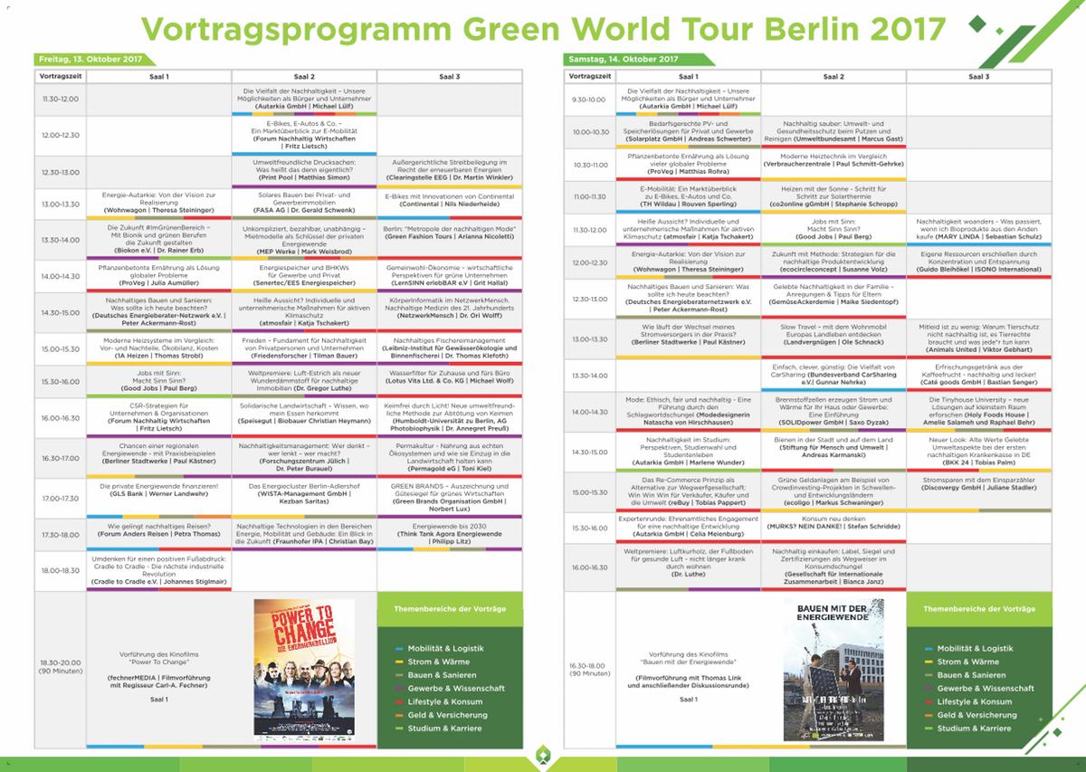 Map for a exhibition/fair