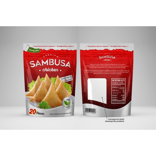 packaging SAMBUSA