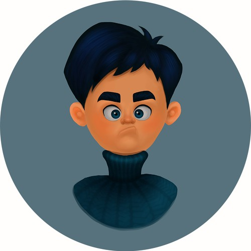 Young Boy Character Illustration