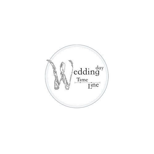 Detailed Wedding Logo