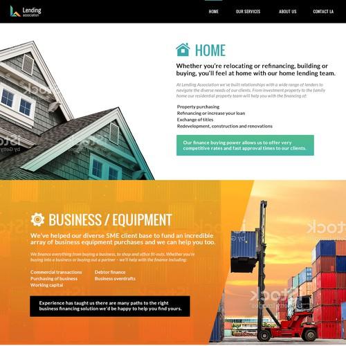Lending Website