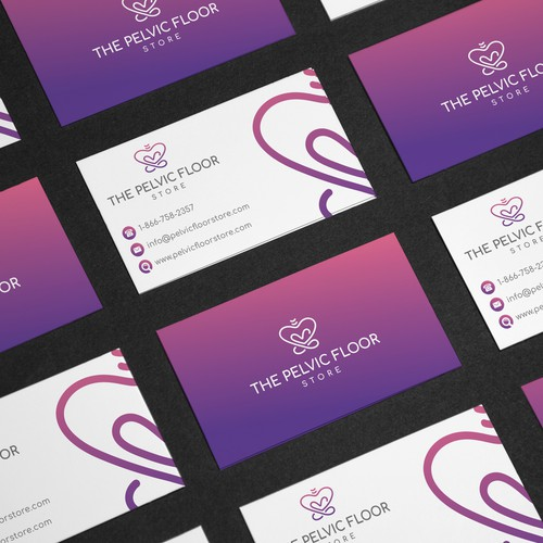 Business Card for Pelvic Floor Store