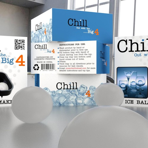 "New product packaging required for our new ""Chill"" range….."