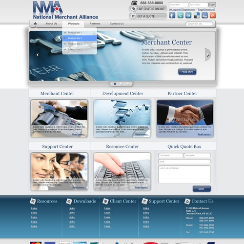 Payment Processing Website - We basically designed it for you.