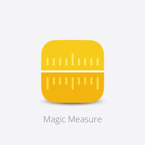 an App icon for Magic Measure