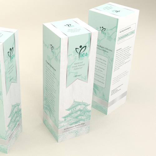 Packaging for Slim Tea