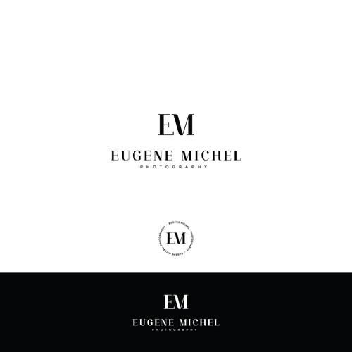 monogram logo for EM