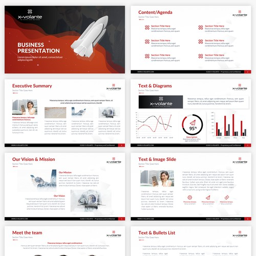 PowerPoint Template for an experiential innovation