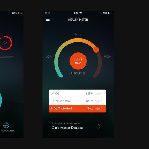 Health Scoring App