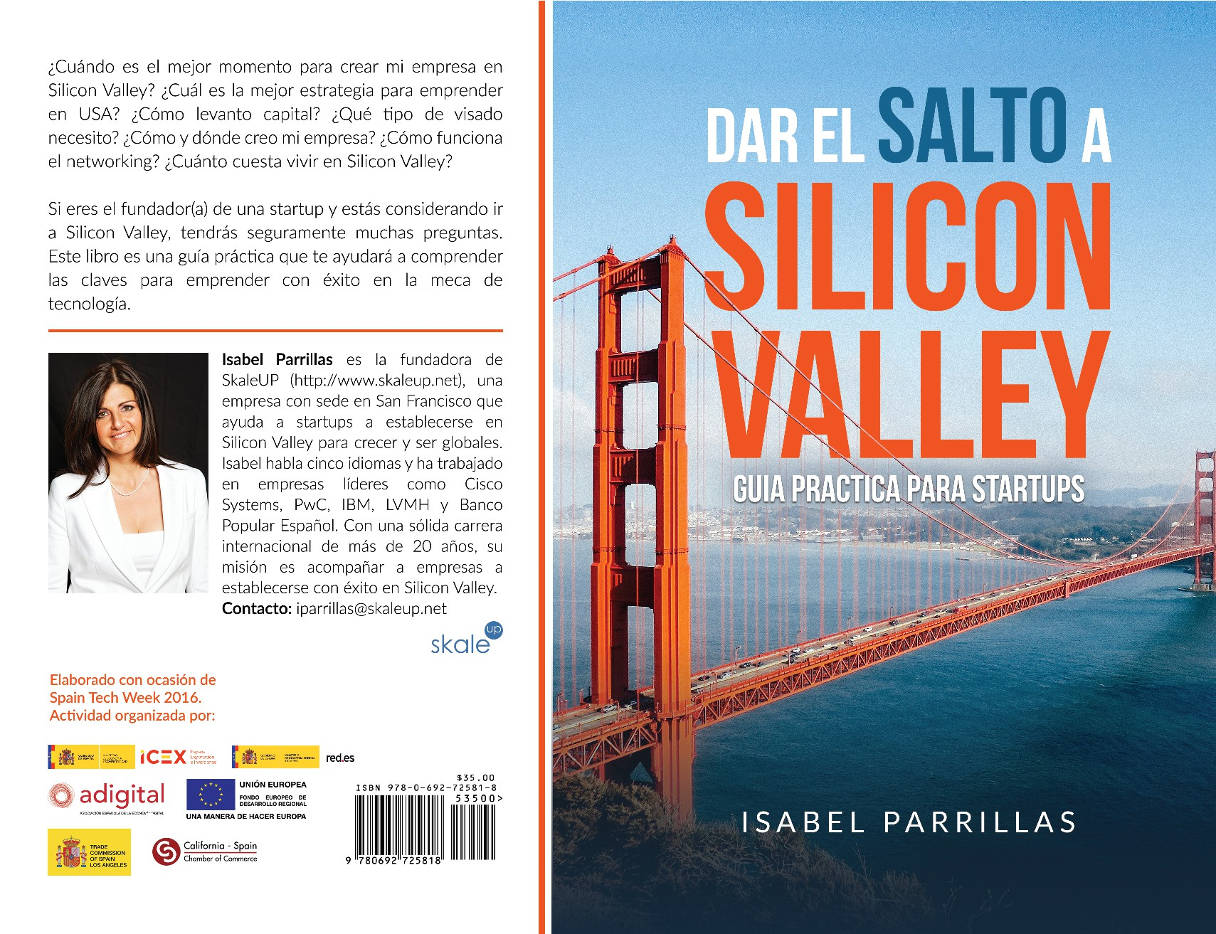Create a captivating cover for founders of startups dreaming of Silicon Valley