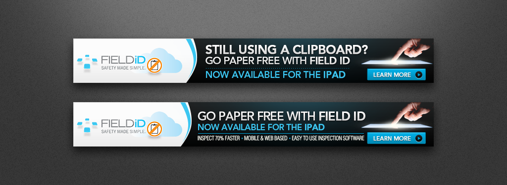 Create the next banner ad for Field ID