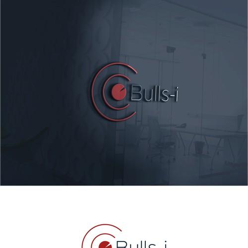 simple design logo for Bulls-i