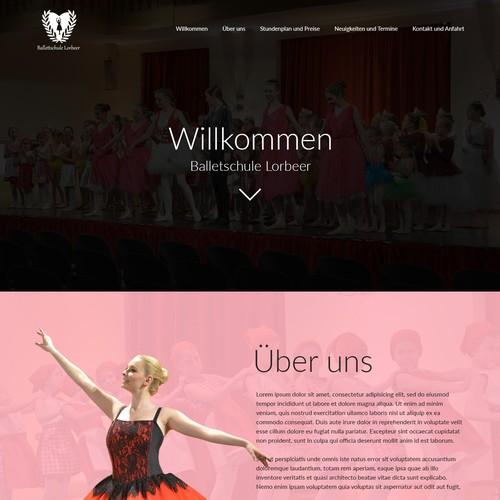 Ballet Website