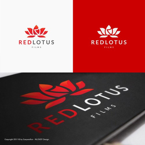 Logo concept for 'Red Lotus'