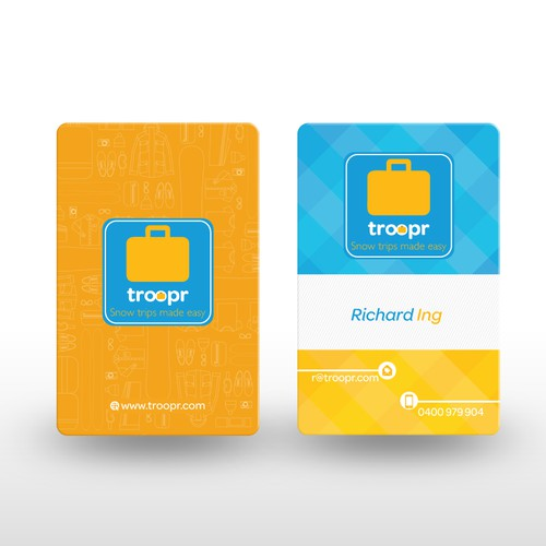 Wanted: Smart, clever business card for travel startup