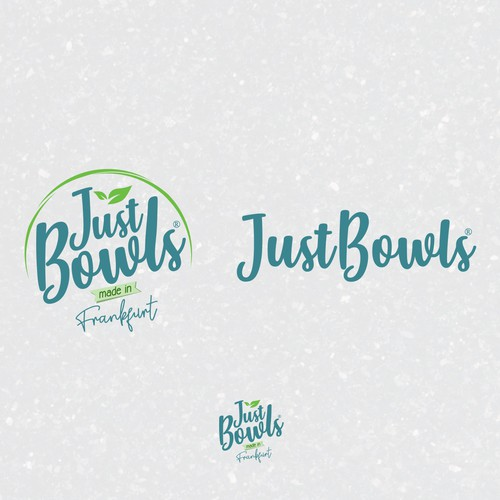 """Classy logo concept for """"JustBowls"""""""