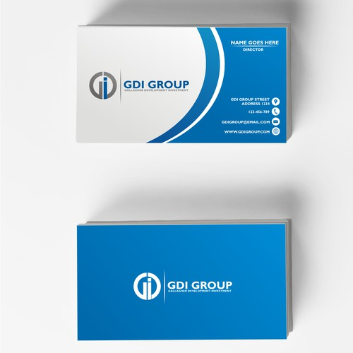 Logo Design and Business card for GDI Group