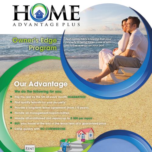 "Home Advantage Plus New Postcard 4"" x 6"""