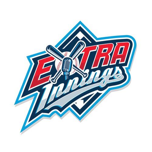 ExtraInnings logo concept