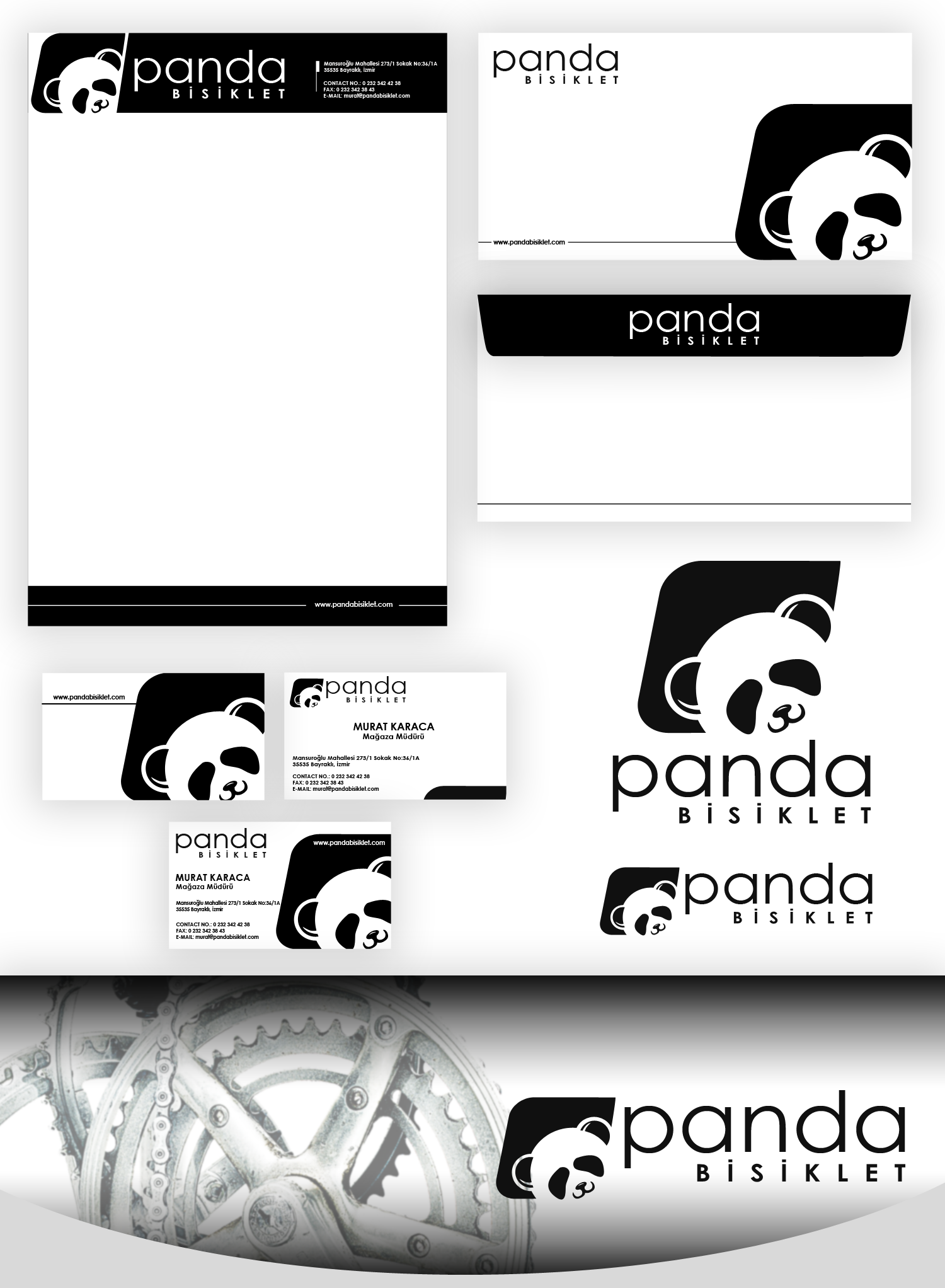 Panda Bike is looking for its logo