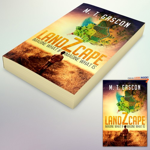 "Book Cover Concept for ""LandZcape"""