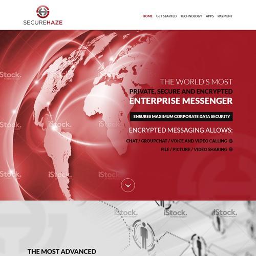 SecureHaze Website