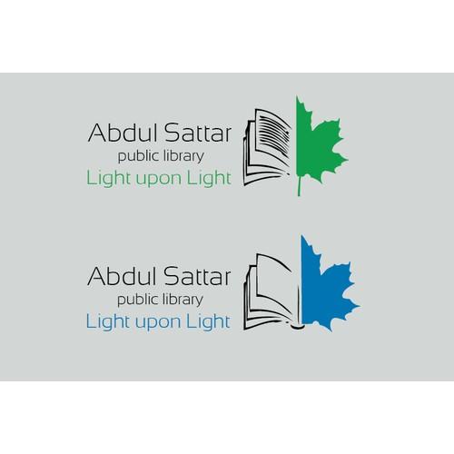 Create a wining logo for : Abdul Sattar Public Library