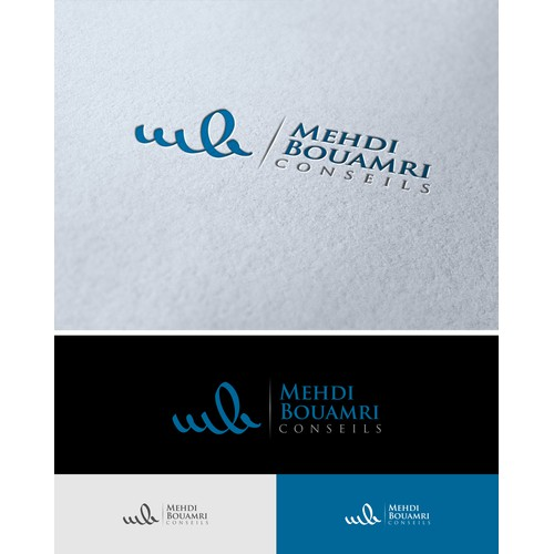 logo and business card pour MB conseils