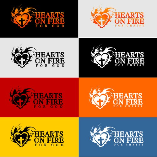 New logo wanted for church children's/youth ministry - Hearts on Fire