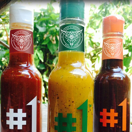 Slick Logo Needed for Hip Hot Sauce Brand #1 Sauce