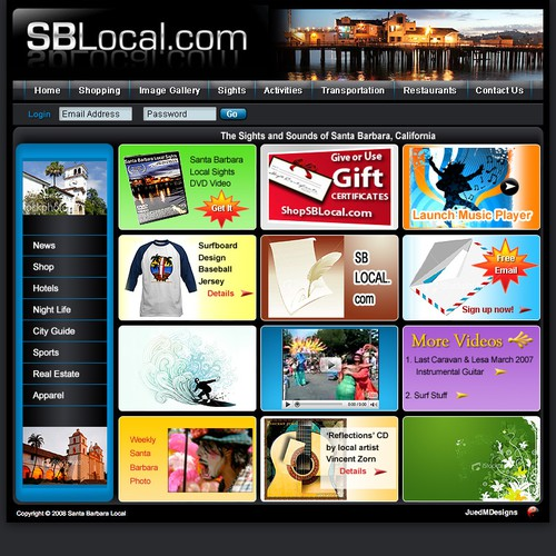 Santa Barbara Tourism Local Site
