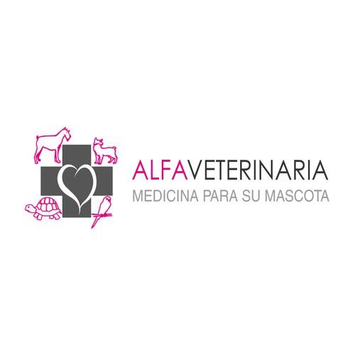 ¡Crea un logotipo original para una clínica veterinaria moderna!