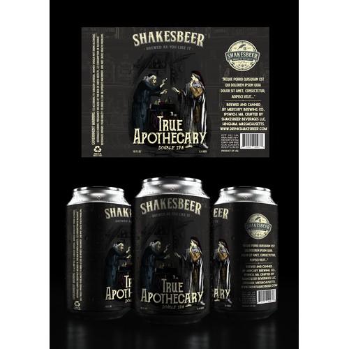Shakesbeer Label Design