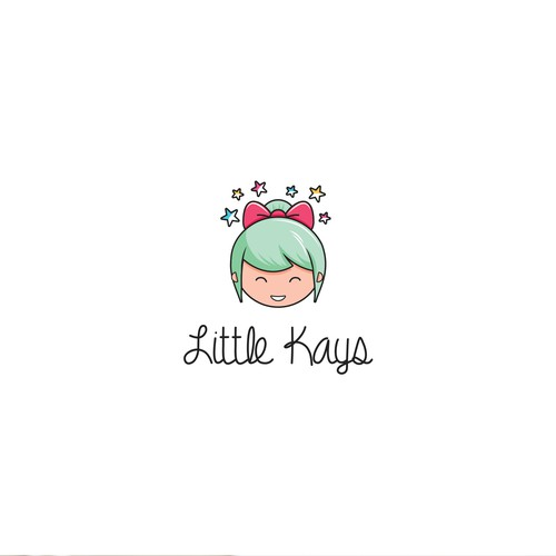 Playful logo for Little Kays