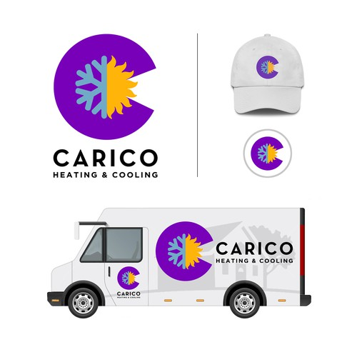 Carico Heating and Cooling Logo