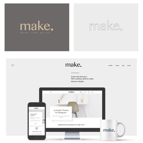 Logo concept for make