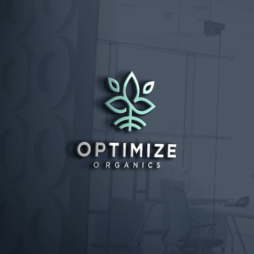 Modern Logo for Optimize Organics, a Cannabis Consulting company