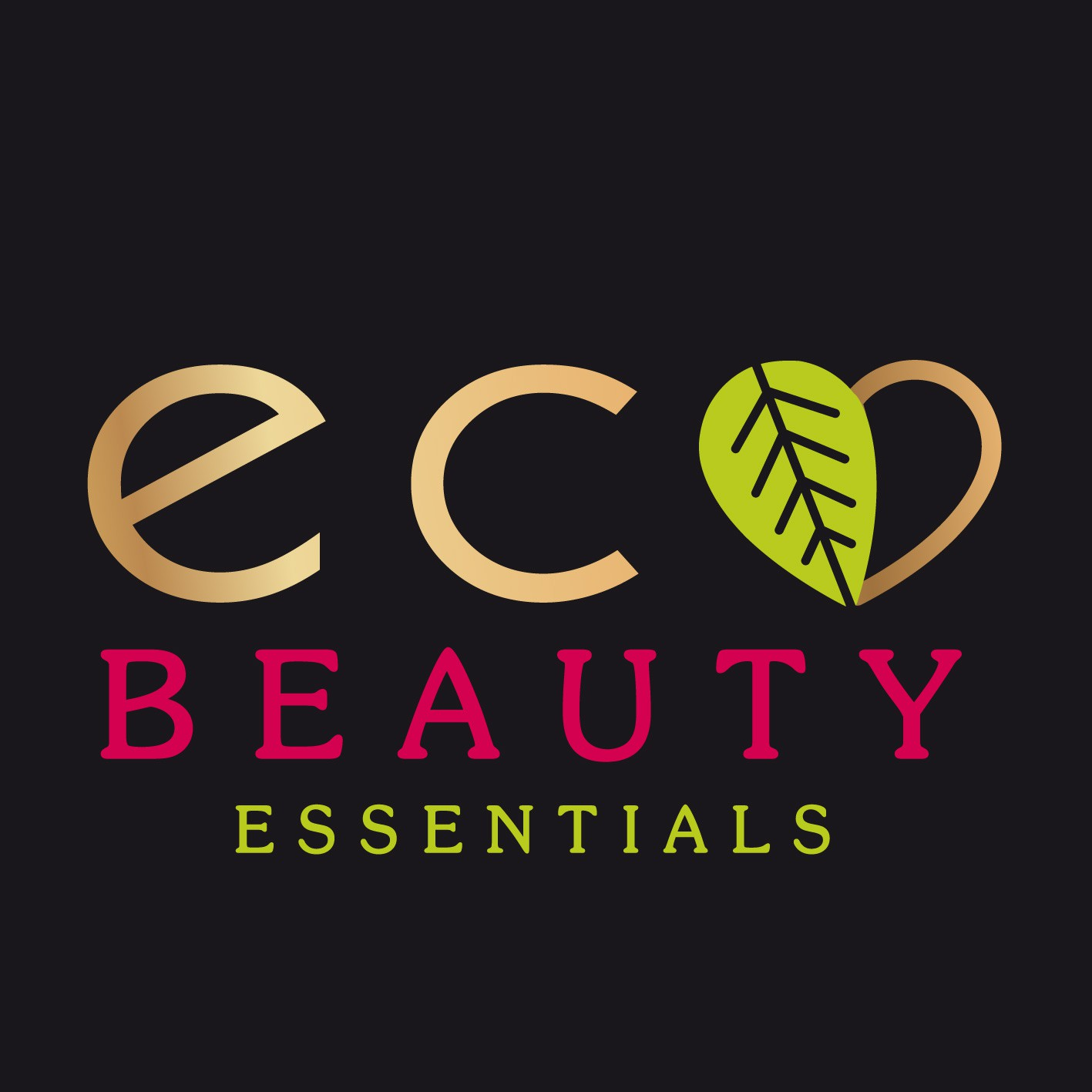 Create a modern, industrial, hipster, logo for our new eco organic beauty products webshop.