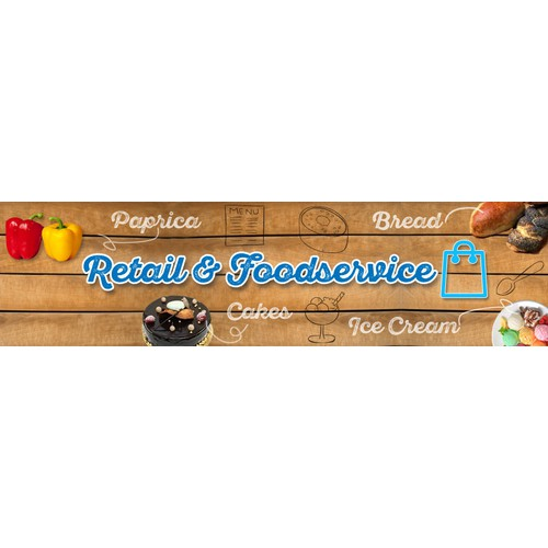 Banner Images for a New Food Website