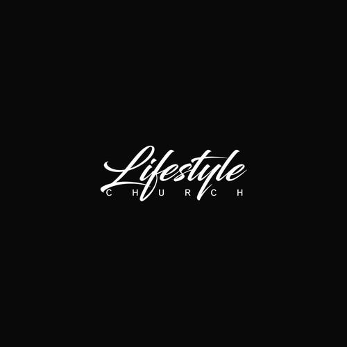 Modern Typeface Logo Concept