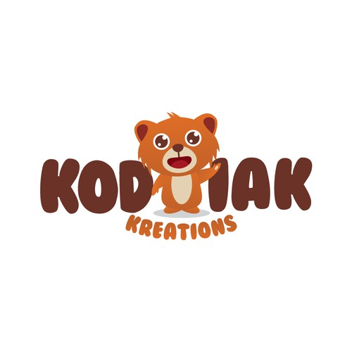 Kodiak Kreations Logo Concept