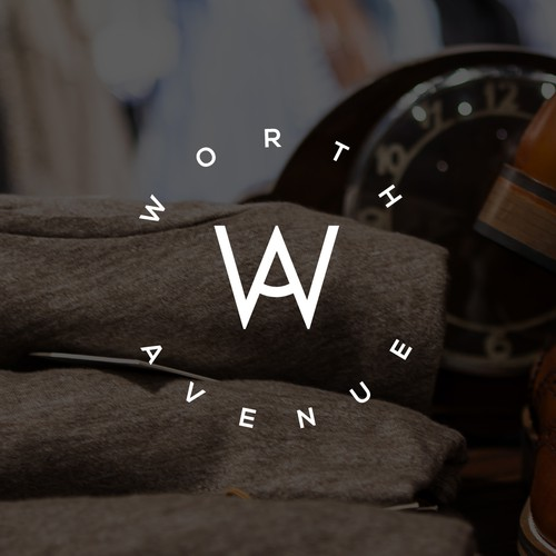 "Logo for ""Worth Avenue"""