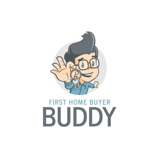 Real estate logo mascot