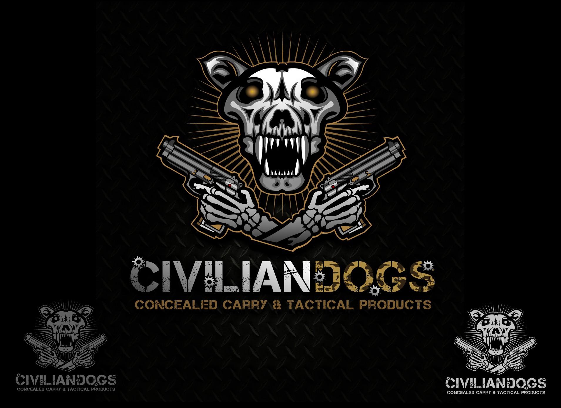 Need Awesome Dog Skull Logo for Civilian Market