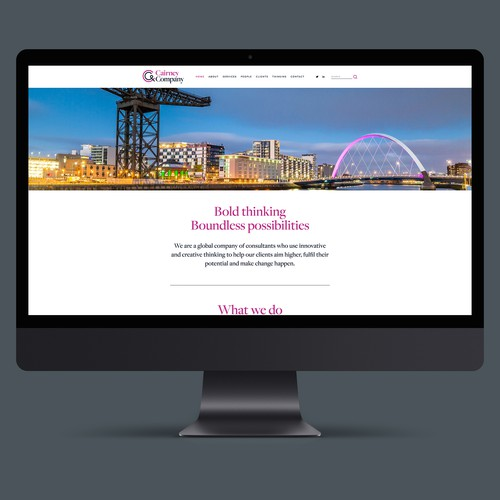 Website for Cairney & Company