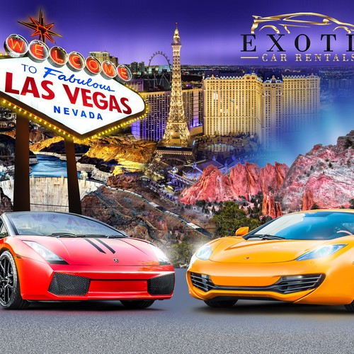 exotic car picture/destination wall poster!