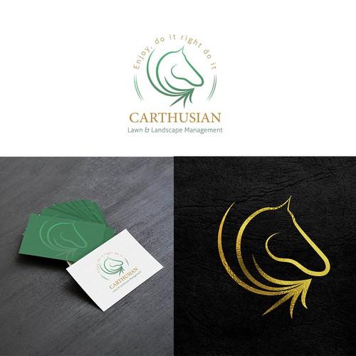 lawn& landscape company logo