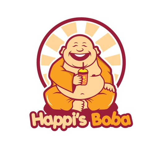 Help Happi's Boba with a new logo