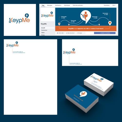 Concept Logo KeypMe
